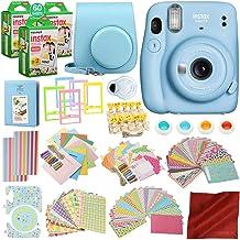Fujifilm INSTAX Mini 11 Instant Film Camera (Sky Blue) w/168 Piece Accessory Kit x3 INSTAX Mini Instant Film (20 Exposures...
