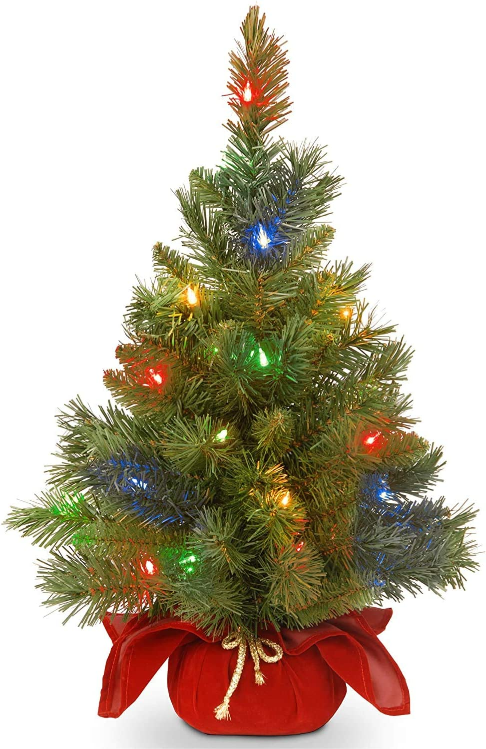 National Tree Wholesale Company Pre-lit Artificial Mini I Special price for a limited time Christmas