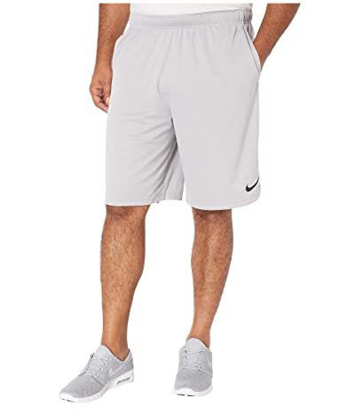 Nike Big Tall Dry Training Shorts (Atmosphere Grey/Black) Men