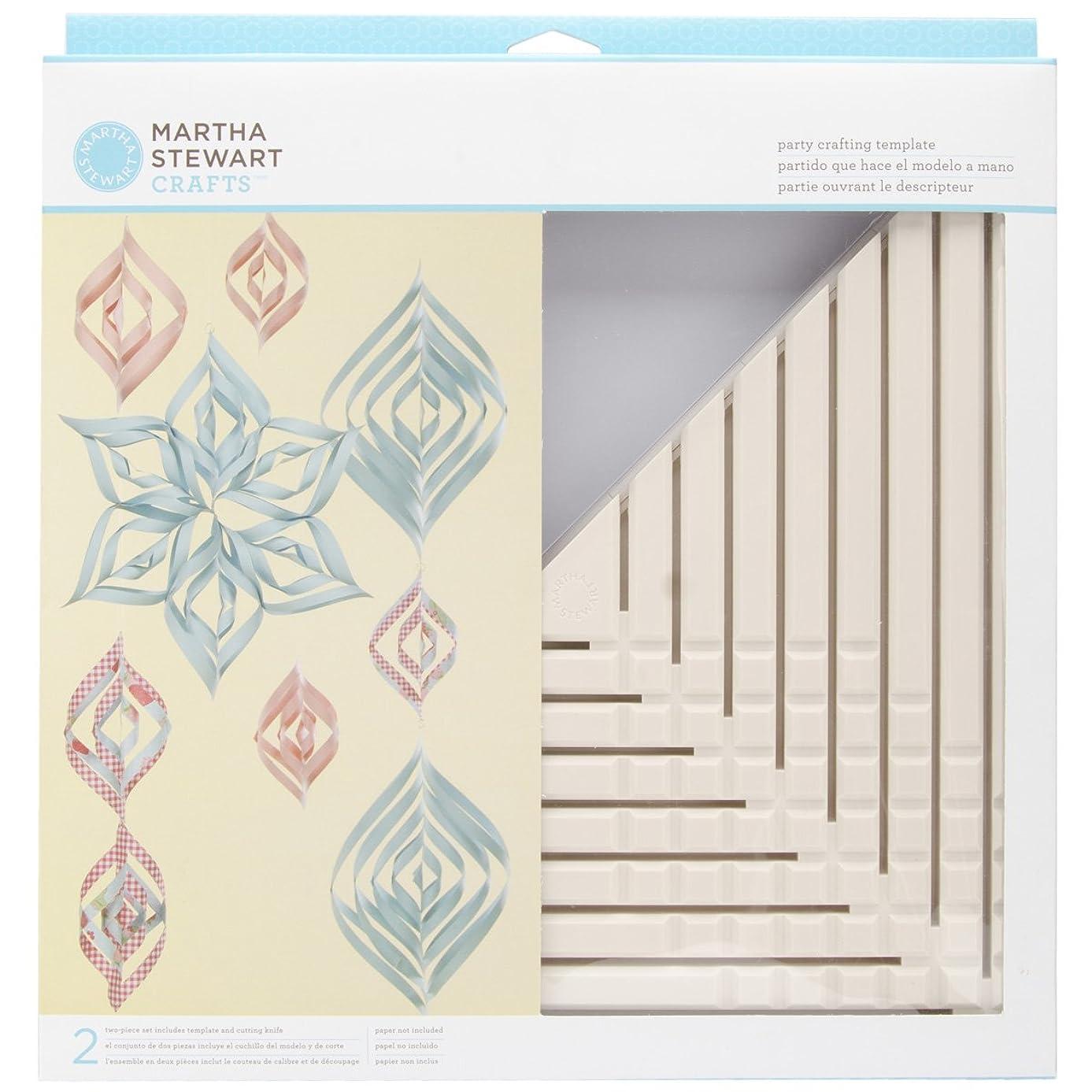 Martha Stewart Crafts Large Triangle Ornament Template