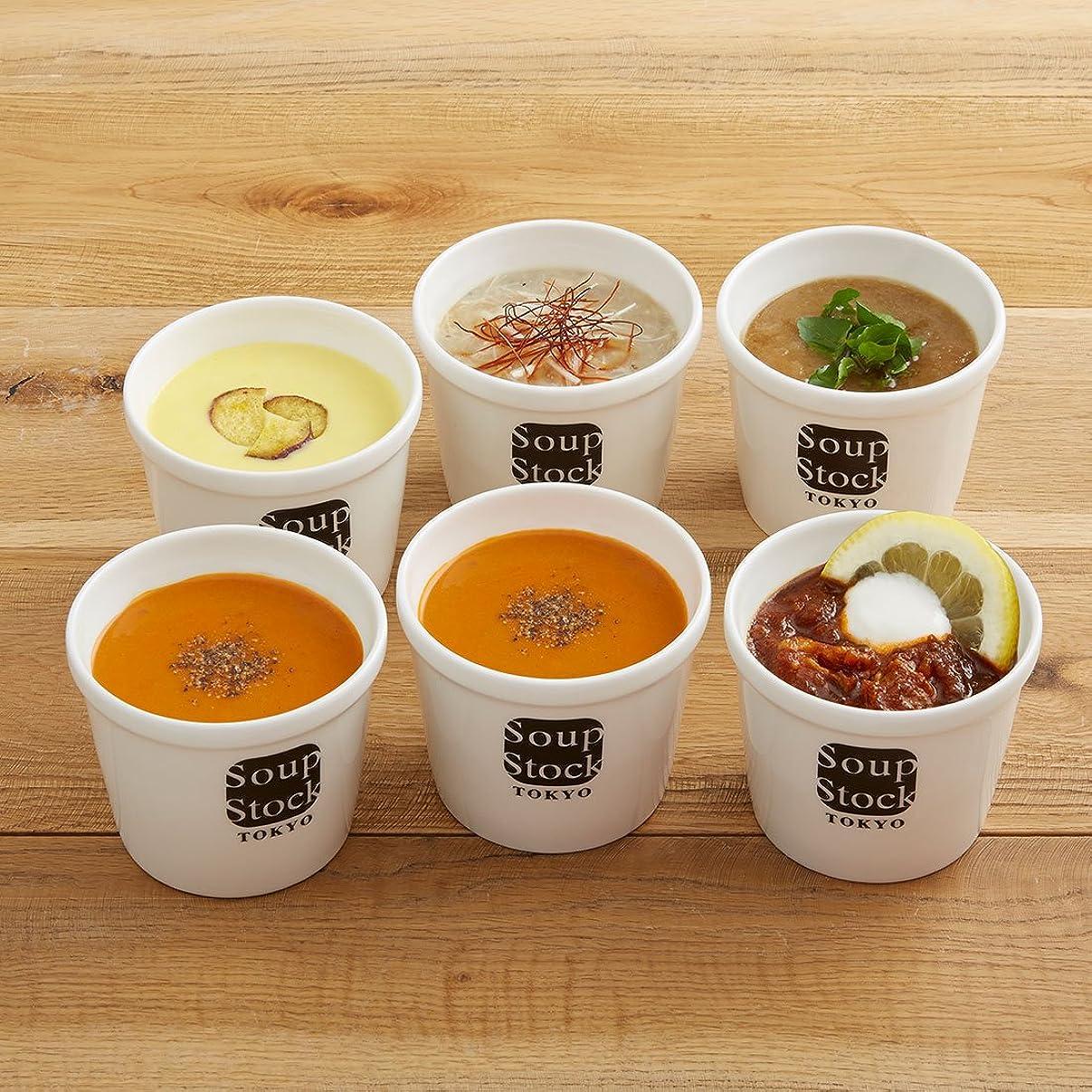 デザート交換可能レッスンスープストックトーキョー スープ 6セット カジュアル箱