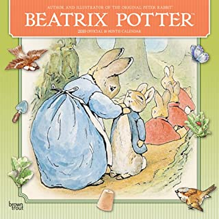Beatrix Potter 2019 12 x 12 Inch Monthly Square Wall Calendar, Children Book The Take of Peter Rabbit (Multilingual Edition)