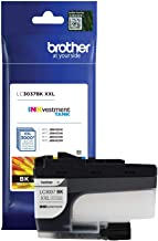Brother Genuine LC3037BK, Single Pack Super High-Yield Black INKvestment Tank Ink Cartridge, Page Yield Up to 3,000 Pages,...