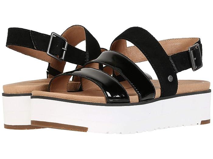 UGG  Braelynn (Black) Womens Sandals