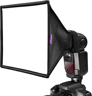Almencla Camera Lens Diffuser Reflector Kit for Studio Flash Speedlight Accessory Kit