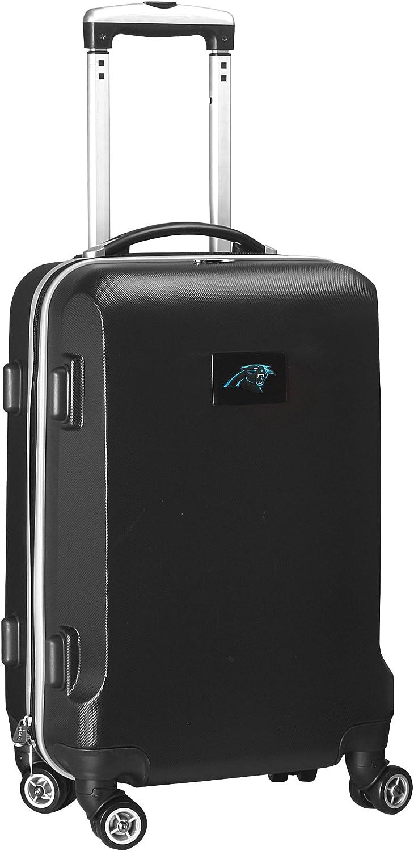 NFL Carolina Panthers Hardcase Domestic Carry-On Spinner, Black, 20-Inch