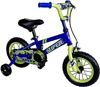 OTLIVE Kids Dirt Bike Boys Bikes 12 16 inch with Training Wheels BMX Road Bicycle Blue