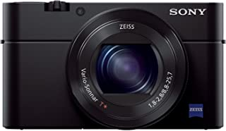 Sony Cyber-shot DSC-RX100 IV - 20.1 MP, Compact Camera, Black