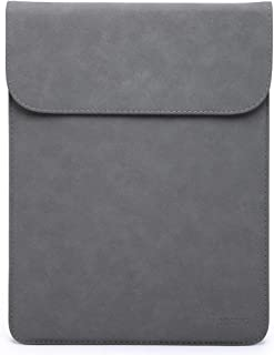 HYZUO 13-13.3 Inch Laptop Sleeve Case Compatible with Old MacBook Air/Old MacBook Pro Retina 13 2012-2015/Old 12.9 iPad Pro/Surface Laptop 2017 / HP Spectre X360 13, Faux Suede Leather