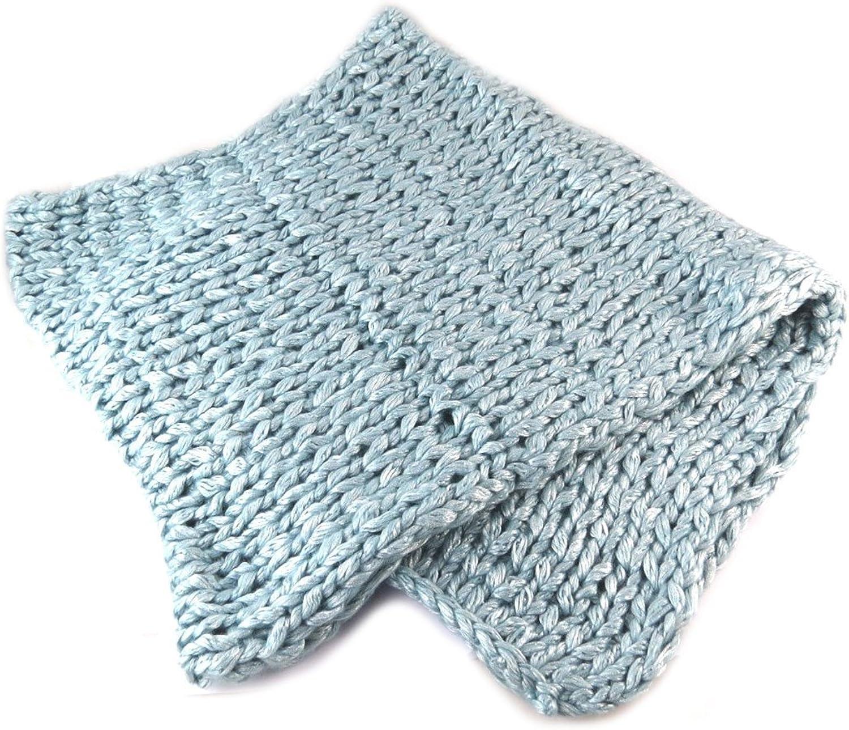 Lollipops [N7364]  Tube scarf snood mesh 'Lollipops' light bluee  90x40 cm (35.43''x15.75'').