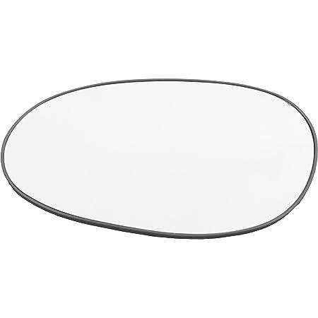 Cromato Specchio Retrovisore specchietto esterno Compatibile con Fiat Freemont dal 2010 al 2017 Solo Vetro con Biadesivo Curvo Sinistro