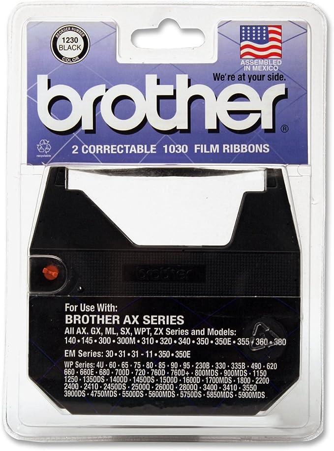 COMPATIBLE BROTHER CORRECTRONIC GX6000 GX7000 GX8000 GX9000 TYPEWRITER RIBBON