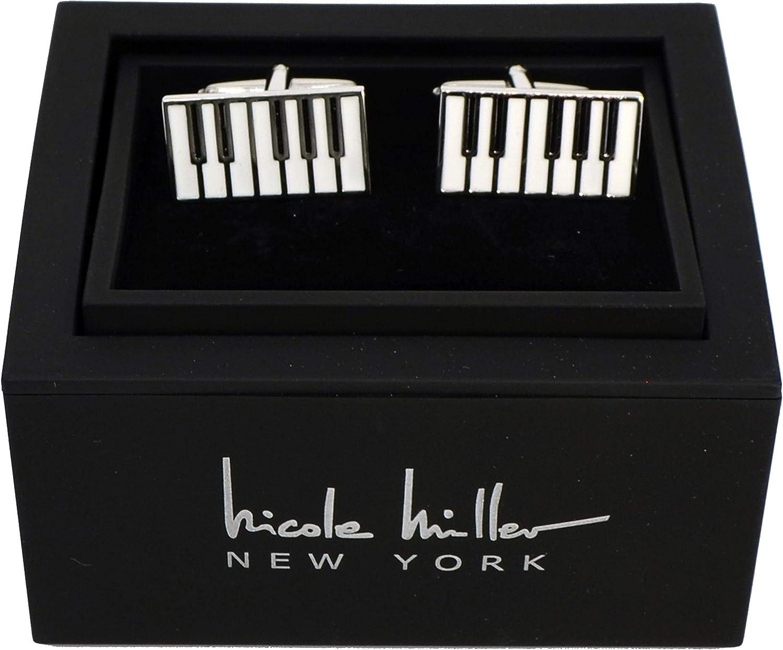 Nicole Miller Studio Piano Cuff Links