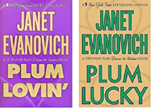 Janet Evanovich -Stephanie Plum Between-The-Numbers Hardcover Novels - Plum Lucky and Plum Lovin' - Bundle of 2 Books