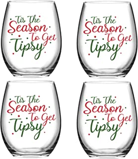 Best tipsy wine glass set Reviews