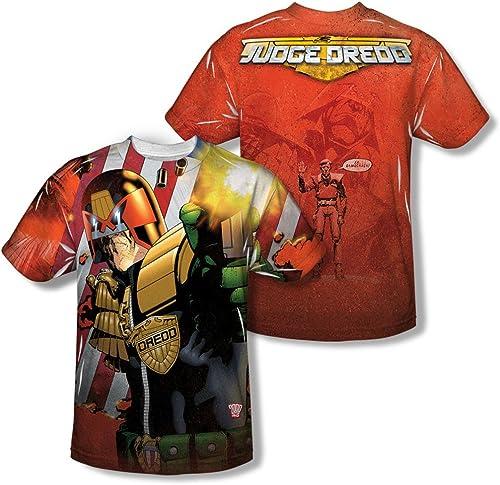 Judge Drouged - - T-shirt Démocracravate Homme (Front   Back Imprimer)