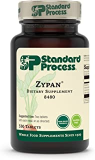 Standard Process Zypan - Whole Food Digestion and Digestive Health with Pepsin, Betaine Hydrochloride (Betaine HCl) and Pa...