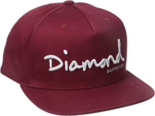 Diamond Supply Co. Men's OG Script Snapback