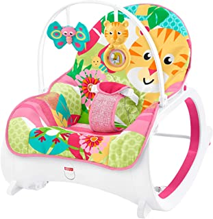 Fisher-Price Infant-To-Toddler Rocker, Baby Bouncer Chair and Rocker Suitable from Birth for New-born