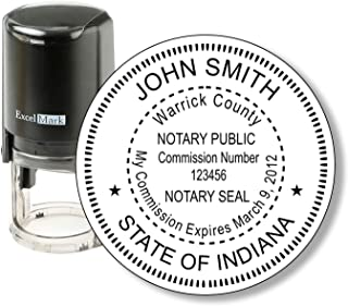Best state of indiana notary seal Reviews