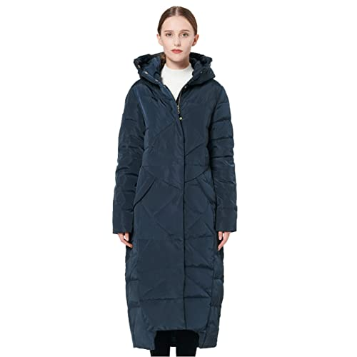 7dcc4695a9c93 Orolay Women s Puffer Down Coat Winter Maxi Jacket with Hood