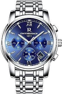 Mens Analog Quartz Wrist Watch -Business Casual Luminous...