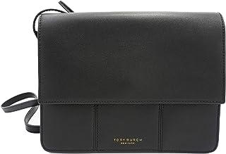 حقيبة كروس نسائية من Tory Burch 71636 أسود/ذهبي
