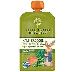 Peter Rabbit Organics Baby Kale Broccoli Mango, 4.40 oz