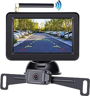 "Regetek AHD 1080P Digital Wireless Backup Camera System 5"" Reversing Monitor with Night Vision Waterproof Rear View Camera..."