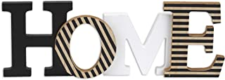 10 Street Home Modern Rustic Wood Home Decorative Sign, Standing or Wall Mount Cutout Word Decor, Living Room Accent, Home Letters Wood