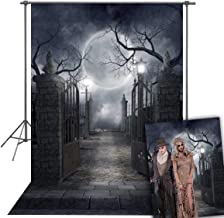 Daniu Halloween Photo Backdrop Photography Background for Halloween Horrible Party Decorations Studio Photo Props