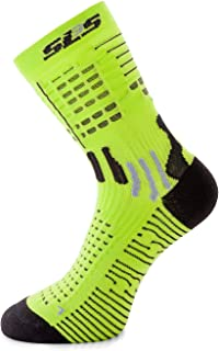 SLS3, Calcetines Deportivos con Protector de Dedos y Almohadillas de Tobillo