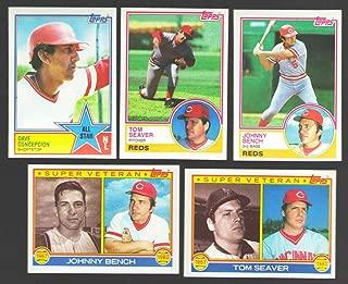 1983 TOPPS - CINCINNATI REDS Team Set
