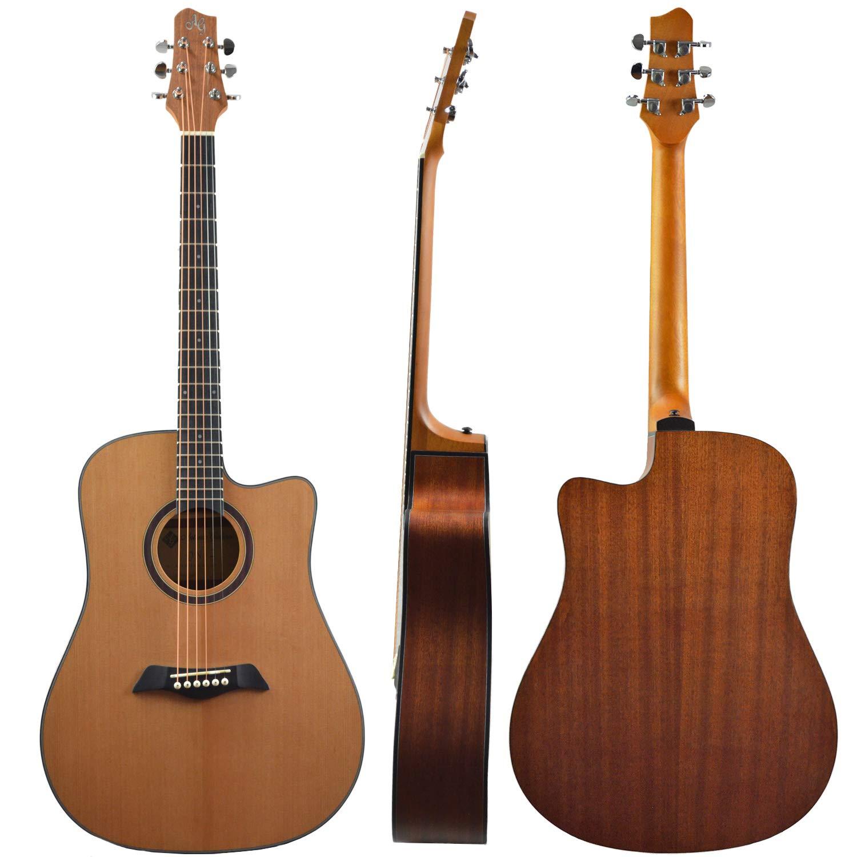 Antonio Giuliani DN - Guitarra acústica Dreadnought de acero ...