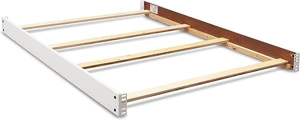 Full Size Conversion Kit Bed Rails For Delta Children S Canton Crib Bianca White