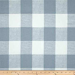 Premier Prints 0416696 Anderson Check Cashmere Blue Fabric by the Yard