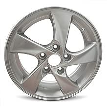 Road Ready Wheels Replacement For 2014-2016 Hyundai Elantra 15 Inch 5 Lug Silver Aluminum Rim Fits R15 Tire