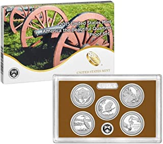 2014 America the Beautiful Quarters Proof Set (15) OGP (1/4) PF