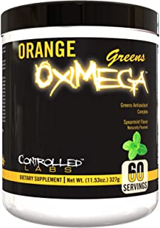 Controlled Labs Orange OxiMega Greens Spearmint -- 0.72 lb