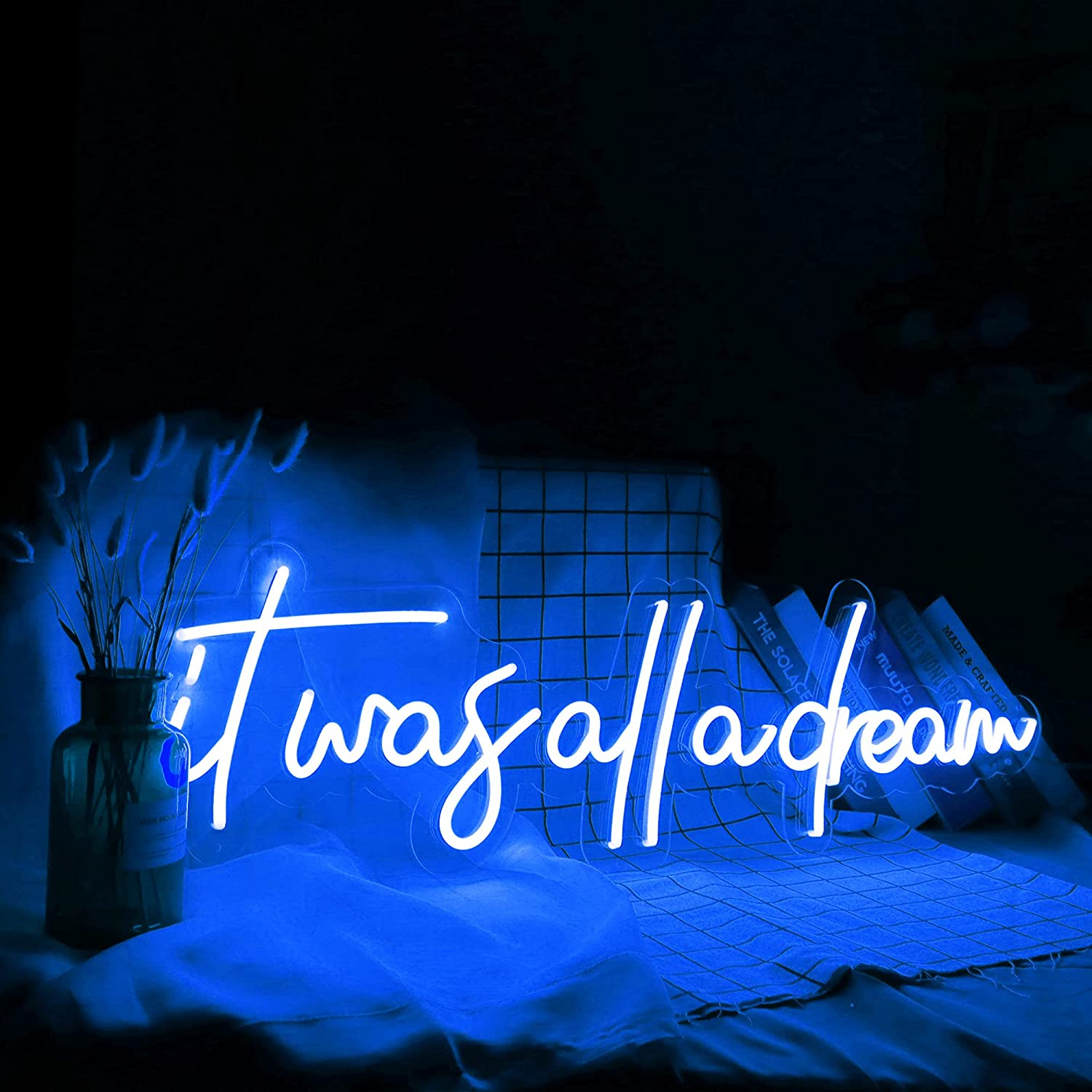 Mail order GYIODFU It was All A Dream Signs with Dimmable 36