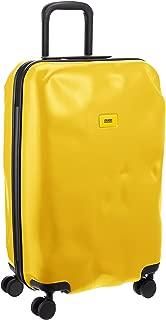 Crash Baggage Pioneer Medium Trolley Suitcase   Mustard Yellow