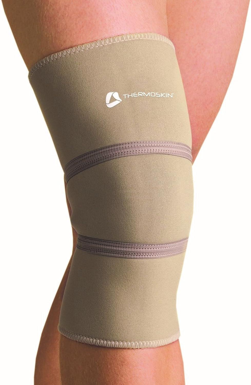 Thermoskin Standard Knee Support - Patella Support, Colour  Beige, Size  M, Circ. Below Kneecap  35.6cm -15 3 4
