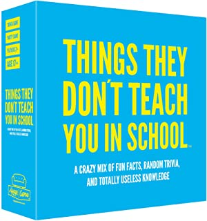 Hygge Games Things They Don't Teach You in School Party Trivia Game Blue, 1 EA