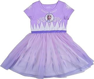 Disney Frozen II Dress for Girls, Elsa Snowflake Princess Dress