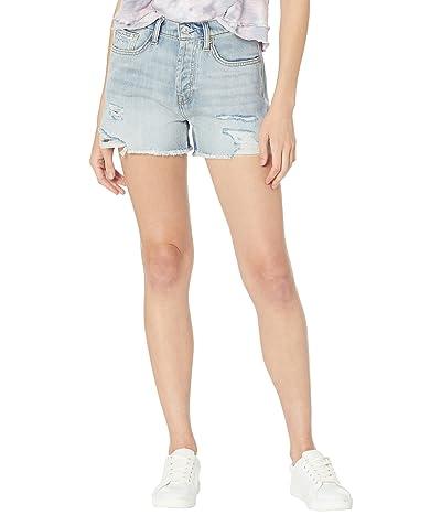 7 For All Mankind Monroe Cutoffs Shorts in Cosmic Blue Rigid