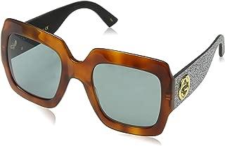Gucci Women's Oversized Sunglasses - GG0102S-004-54 - 54-25-145 mm