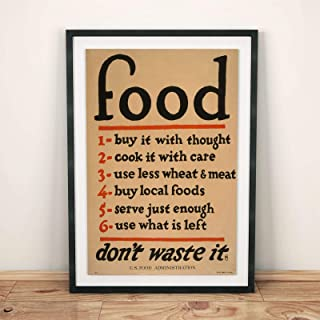 Best no food waste poster Reviews