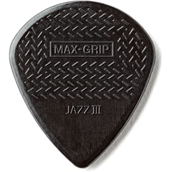 JIM DUNLOP MAXGRIP JAZZ III/BK ピック ×12枚