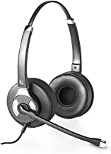 Leitner OfficeHero LH245XL Dual-Ear Corded Office Telephone Headset with Noise Cancelling Microphone - Includes 5-Year War... photo