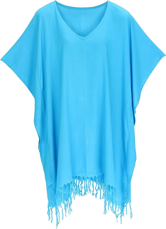 Beautybatik Boho Women Tunic Blouse Kaftan Caftan Top Blouse Plus XL to 4X